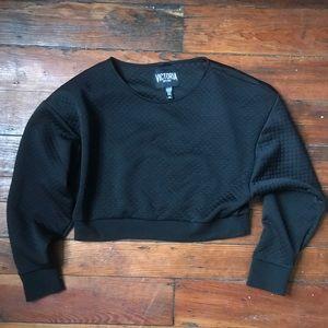 Victoria's Secret sport cropped sweatshirt L